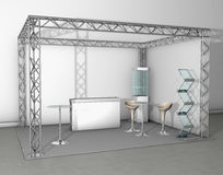 Trade exhibition stand Royalty Free Stock Images