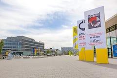 Trade fair Stuttgart, International leading trade fair for quality management Stock Photo
