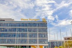 Trade fair Stuttgart, main building Royalty Free Stock Photography