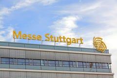 Trade fair Stuttgart, main building Stock Image