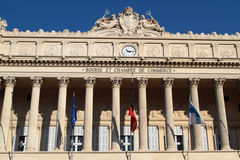 Trade House in Marseilles Stock Photo