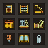 Trade Icon Series. Trade and business icons set. Check my portfolio for much more of this series as well as thousands of similar and other great vector items stock illustration