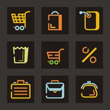 Trade Icon Series Royalty Free Stock Images