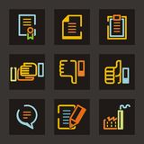 Trade Icon Series Royalty Free Stock Photography