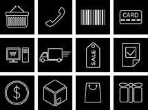 Trade icons Royalty Free Stock Photography