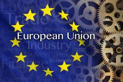 Trade and Industry - European Union Royalty Free Stock Image