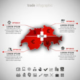Trade Infographic Royalty Free Stock Image
