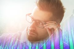 Trade and investment concept stock photography