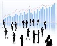 Trade market symbol Stock Images