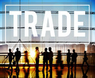 Trade Marketing Commercial Merchandise Concept Stock Image
