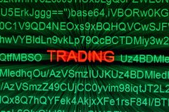 Trade online concept Stock Photography