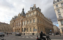Trade Palace, Lyon, France Stock Images