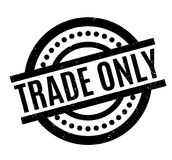 Trade Only rubber stamp Stock Images