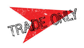 Trade Only rubber stamp Stock Photography