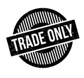 Trade Only rubber stamp Royalty Free Stock Photo