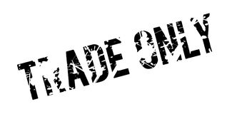 Trade Only rubber stamp Royalty Free Stock Photography