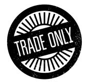 Trade Only rubber stamp Royalty Free Stock Images