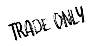 Trade Only rubber stamp Royalty Free Stock Image