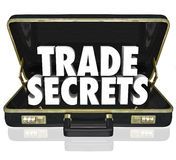 Trade Secrets Briefcase Business Proprietary Information Intelle stock illustration