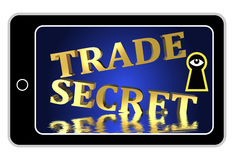 Trade Secrets at Stake Royalty Free Stock Photos