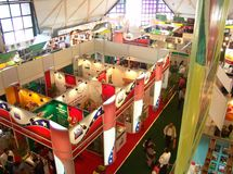 Trade Fair India Stock Photo