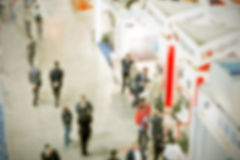 Trade show background Royalty Free Stock Images