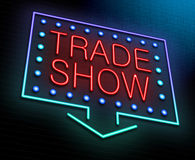 Trade show concept. Royalty Free Stock Photography