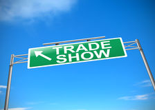 Trade show concept. Royalty Free Stock Image