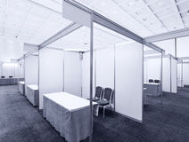 Trade show interior Stock Photography