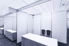 Trade show interior Royalty Free Stock Photos