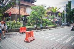 Trade streets of Ubud Stock Photos