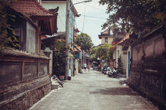 Trade streets of Ubud Royalty Free Stock Image
