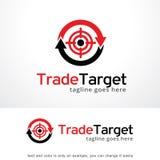 Trade Target Logo Template Design Vector, Emblem, Design Concept, Creative Symbol, Icon Royalty Free Stock Photography