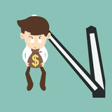Trade time for money Stock Photography