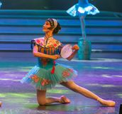 Hua Dan-Ballet-General Trade Union`s Labor Day Show Royalty Free Stock Photos
