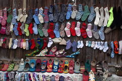 Trade in Viscri village Stock Photos