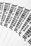 Trade war. Barcode, trade war, business concept Royalty Free Stock Photography