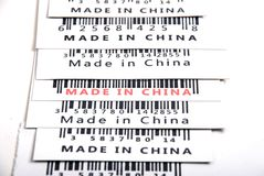 Trade war,made in China Royalty Free Stock Image