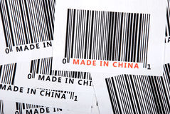 Trade war,made in China Royalty Free Stock Photos