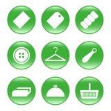 Trade - web icons (buttons) stock photos