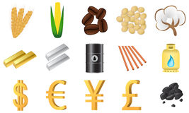 Traded commodities Stock Image