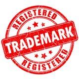 Trademark business rubber vector stamp