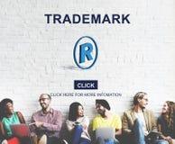 Trademark Logo Brand Name Copyright Concept.  stock photography