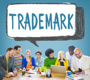 Trademark Product Marketing Identity Copyright Concept.  stock photos