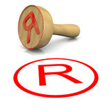 Trademark Stamp Stock Image