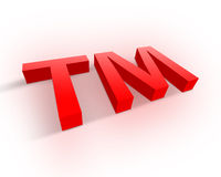 Trademark symbol Stock Images