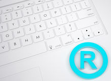 Trademark symbol on the keyboard Royalty Free Stock Image
