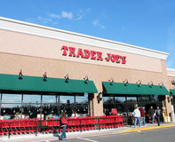 Trader Joe's. Is a chain of privately own grocery stores in the USA ,half of the Royalty Free Stock Photography