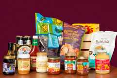 Trader Joe's assortment Royalty Free Stock Images