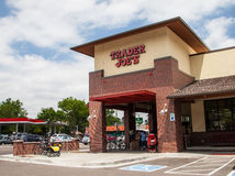 Trader Joe's. New Trader Joe's in Denver, Colorado. Trader Joe's is an American chain of specialty grocery stores headquartered in Monrovia, California Stock Image
